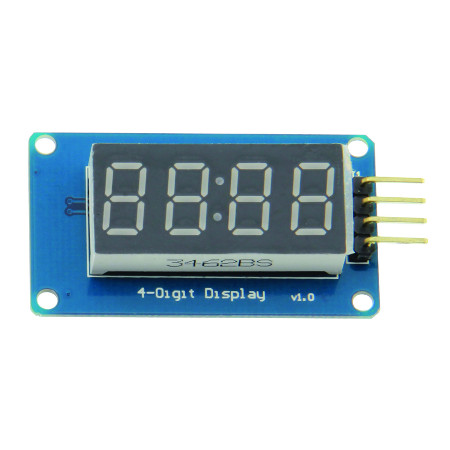 Module affichage 4 digits rouges (compatible Arduino)