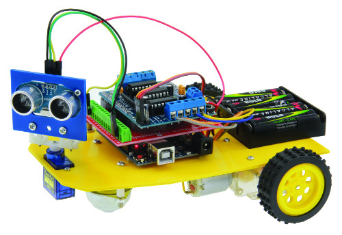 ROBOT ULTRASONIQUE Compatible ARDUINO DUINO3003