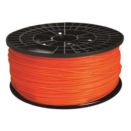 FIL PLA 3mm pour IMPRIMANTE 3D couleur ORANGE