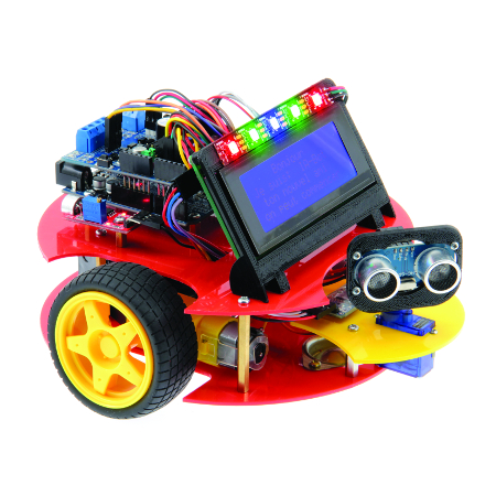 ROBOT IA-BOT Programmable compatible ARDUINO