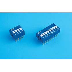 Inter. DIP SWITCH 4 pins 11,7 mm