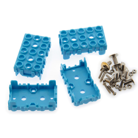 Lot de 4 supports pour module Grove 1 x 2 bleu