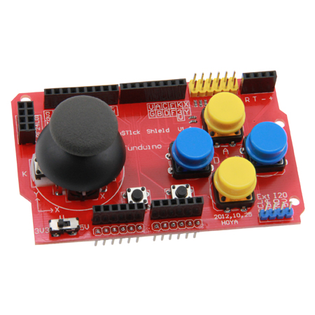 SHIELD Manette de jeux - compatible Arduino