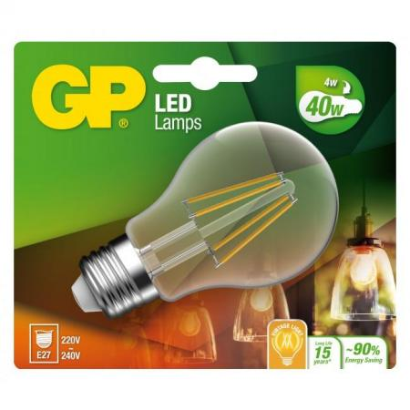 gp ampoule led filament e27 4w-40w
